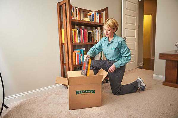 Bekins moving boxes