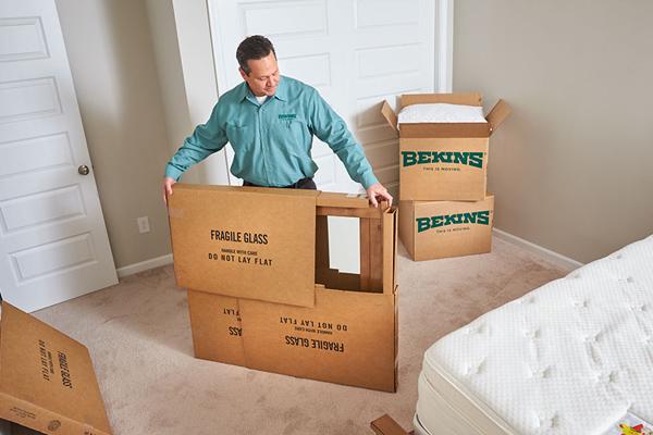 Bekins movers in Dallas